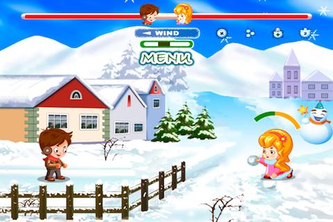 Screenshot Addictive Snow Ball Fight